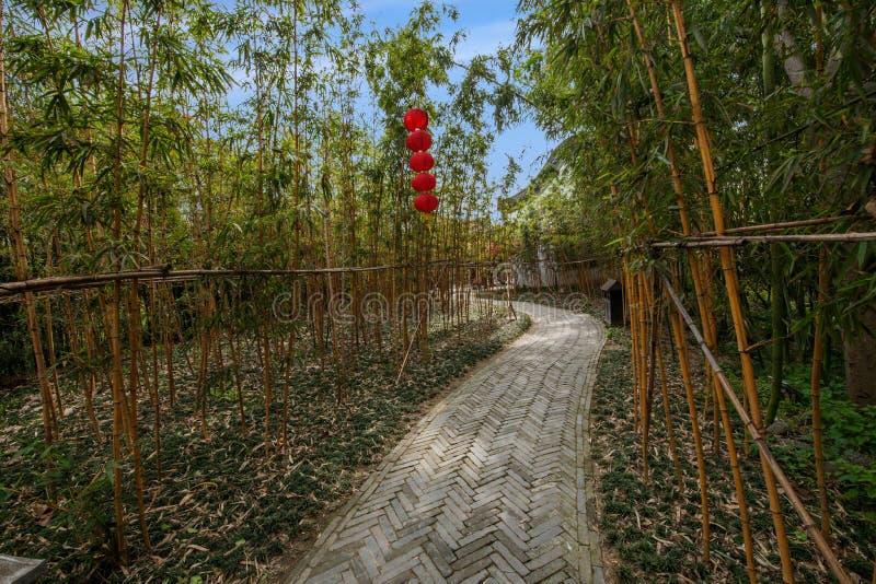 Construção de Daming Temple dentro imagens de stock