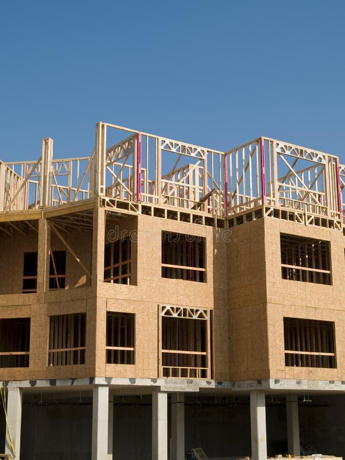 Construção de edifício urbana fotografia de stock royalty free