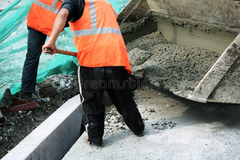 Construção de estradas. fotos de stock royalty free