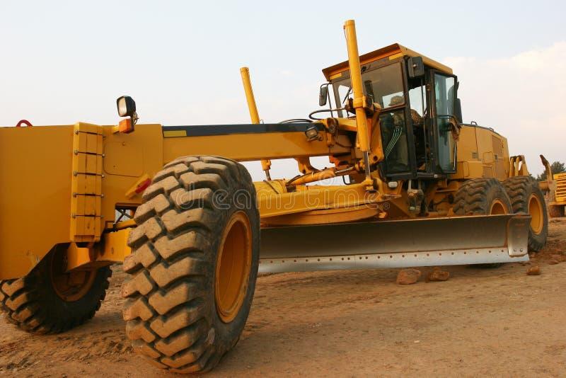 Download Construção De Estradas Do Graduador Foto de Stock - Imagem: 200364