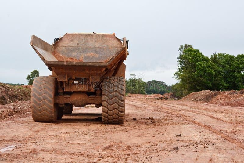 Construção de estradas uma cena industrial fotografia de stock royalty free