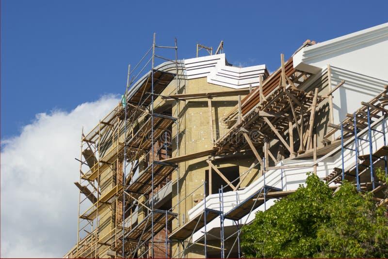 Construção de habitações fotografia de stock
