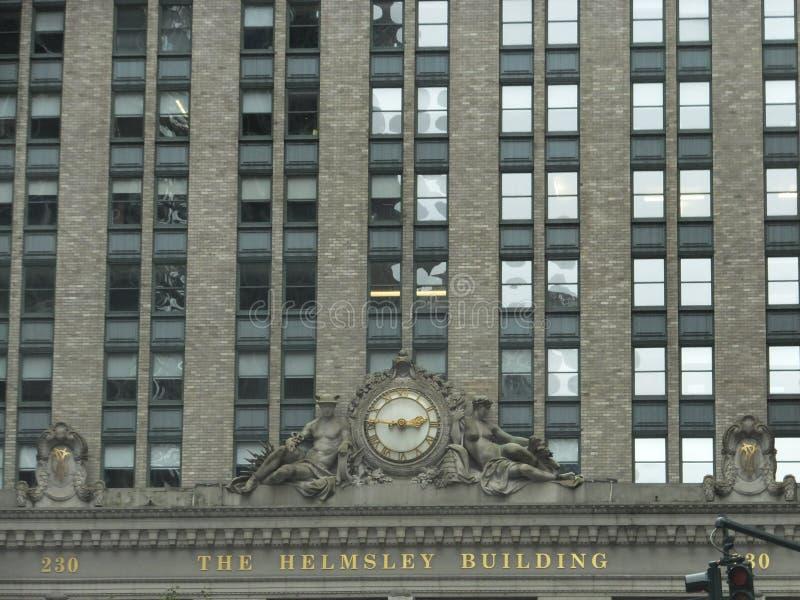 Construção de Helmsley em New York foto de stock royalty free