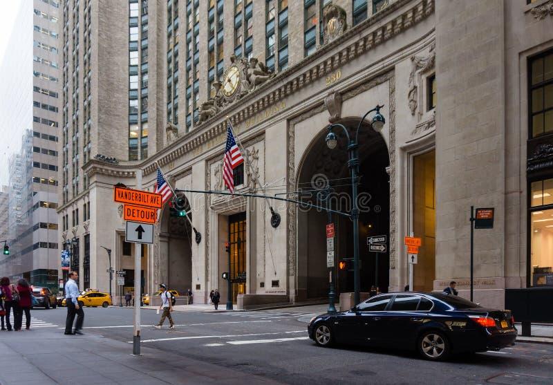 A construção de Helmsley em New York City fotografia de stock royalty free