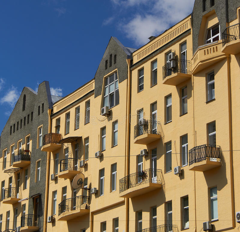 Construção de Kiev foto de stock royalty free