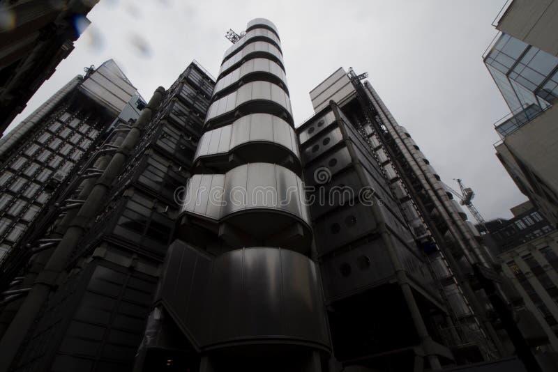 A construção de Lloyds imagens de stock