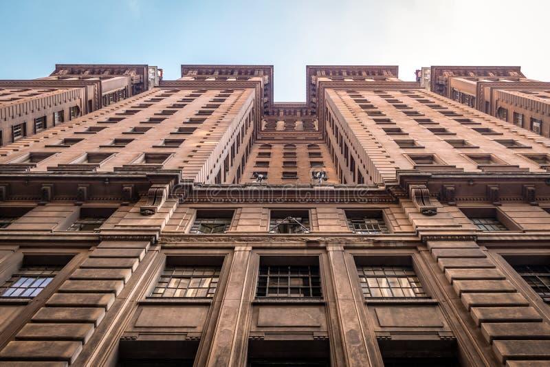 Construção de Martinelli em Sao Paulo do centro - Sao Paulo, Brasil foto de stock royalty free