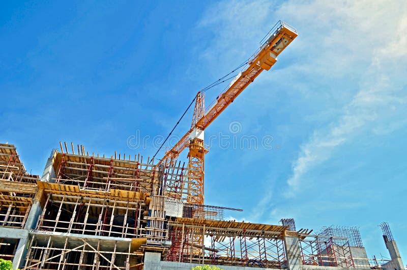 Construção de Miami Beach sob a construção foto de stock royalty free