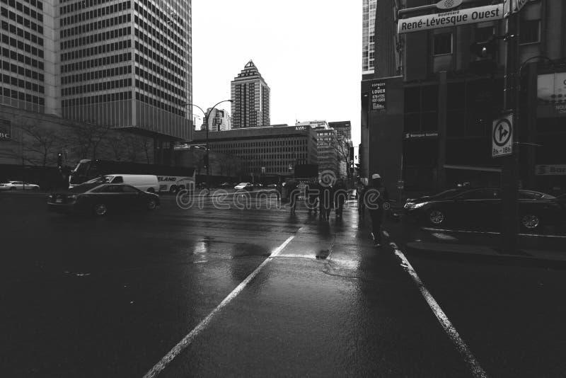 Construção de Montreal fotos de stock royalty free