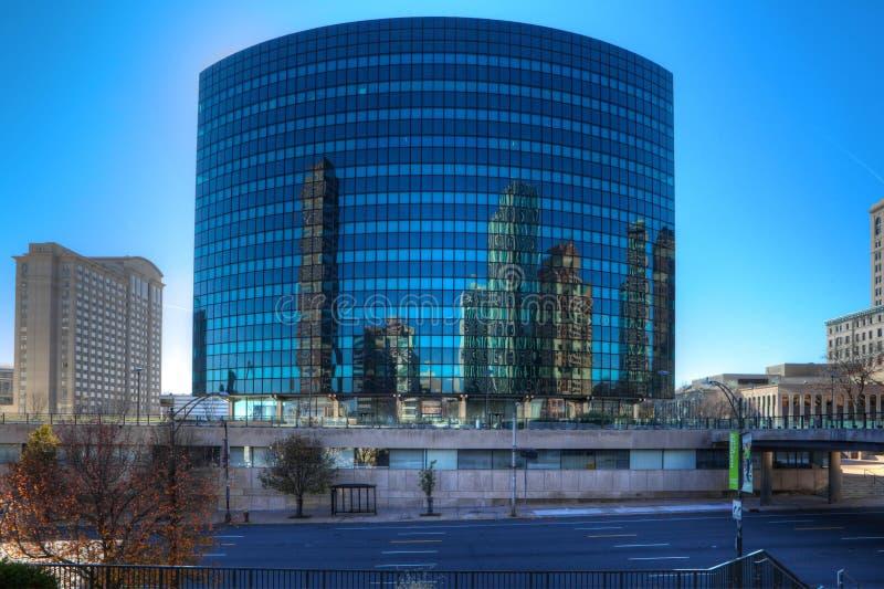 A construção de Phoenix em Hartford, Connecticut foto de stock royalty free