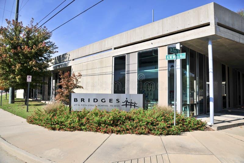 A construção de pontes, Memphis TN fotos de stock