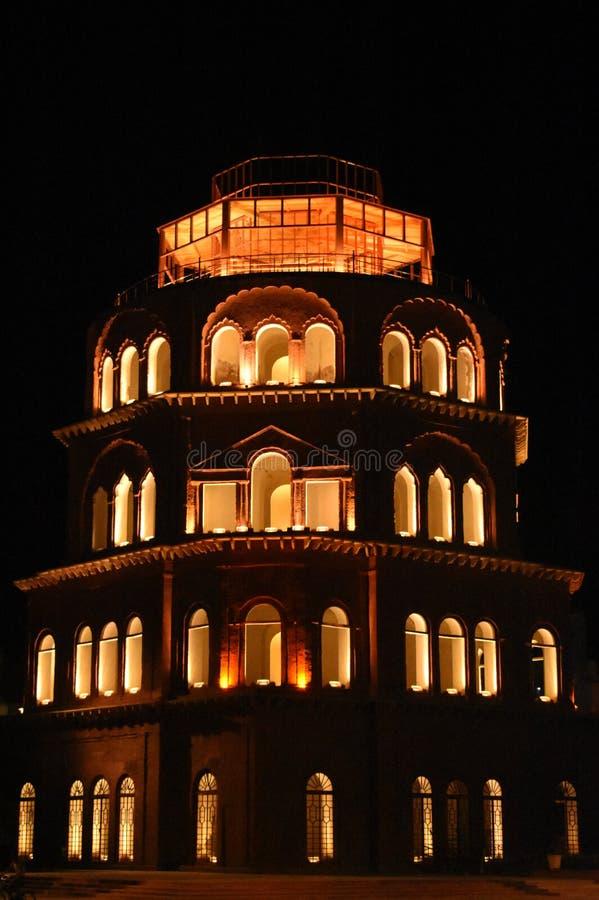 Construção de Satkhanda, Lucknow, Índia fotografia de stock