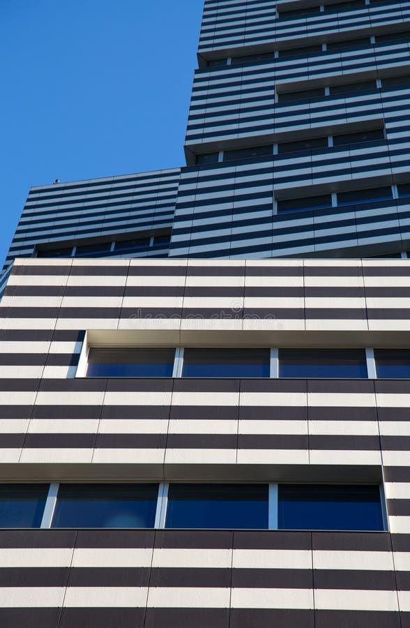 Construção de Siemens, as matrizes novas de Genoa Siemens Italy/arranha-céus/construção/negócio/comércio imagens de stock