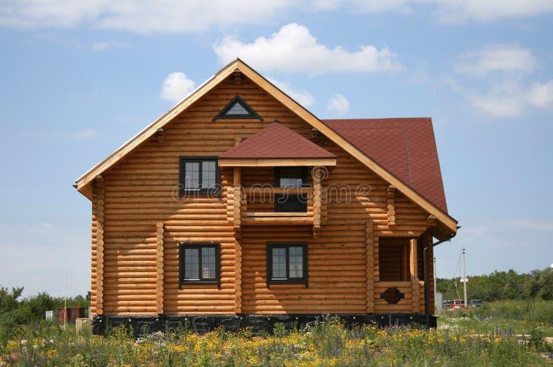 Construção de uma casa nova foto de stock royalty free