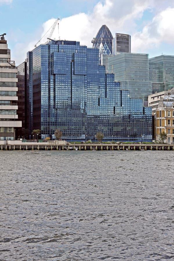 Construção de vidro de Londres fotografia de stock