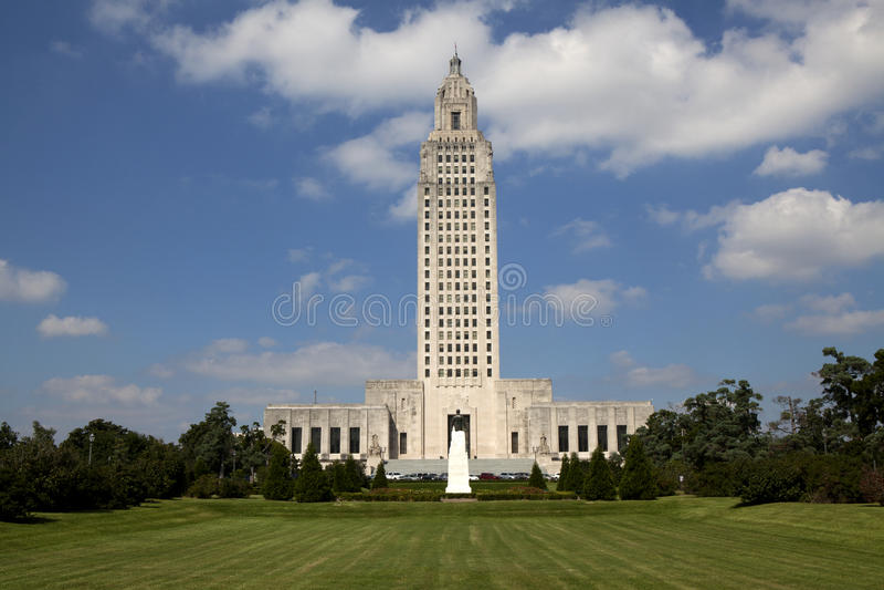 Construção do Capitólio do estado de Louisiana fotografia de stock royalty free