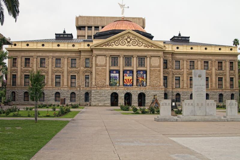 Construção do Capitólio do estado do Arizona imagem de stock royalty free