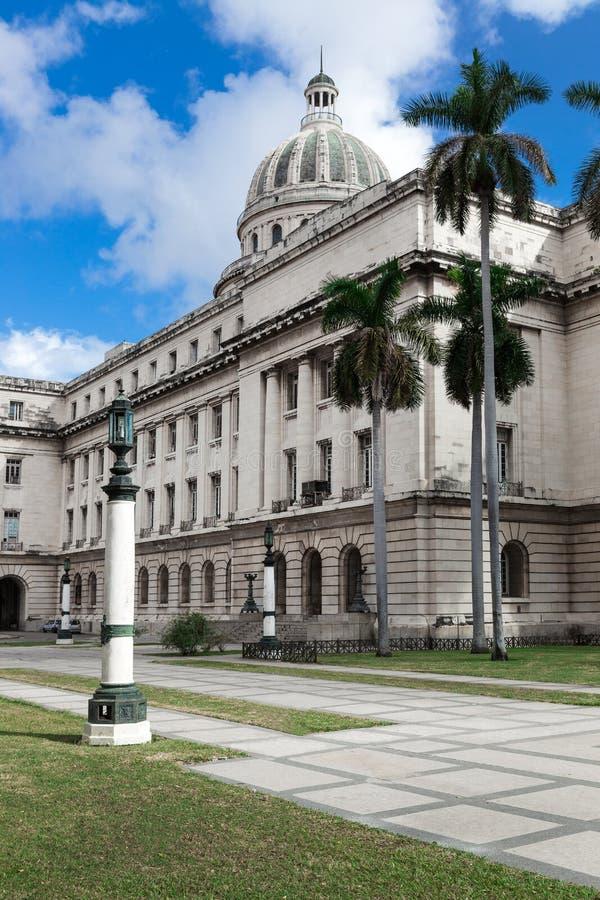 Construção do Capitólio em Havanna imagem de stock
