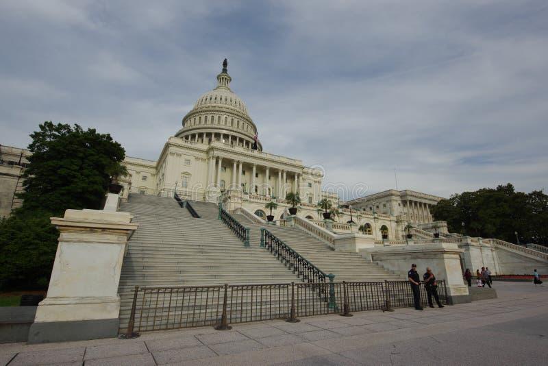 Construção do Capitólio do Estados Unidos - Washington DC fotos de stock