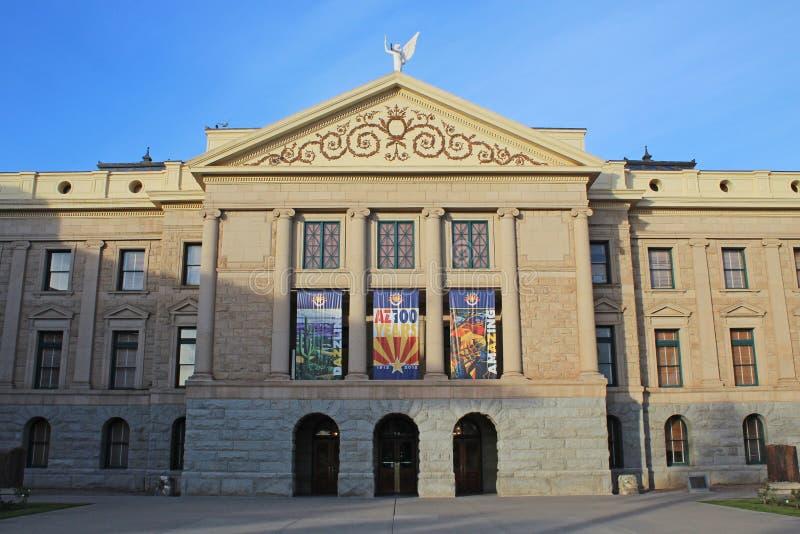 Construção do Capitólio - Phoenix, o Arizona imagem de stock royalty free