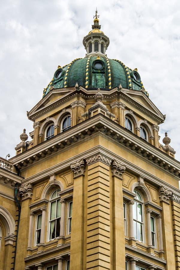 Construção do capital de estado de Iowa fotografia de stock royalty free