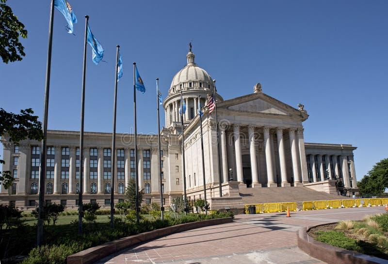 Construção do capital de estado de Oklahoma fotografia de stock royalty free