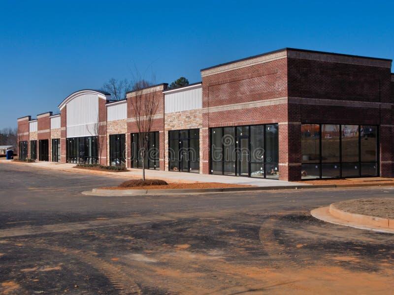 Construção do centro comercial imagens de stock