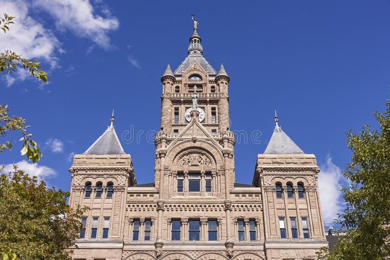 Construção do condado de Salt Lake City fotos de stock royalty free