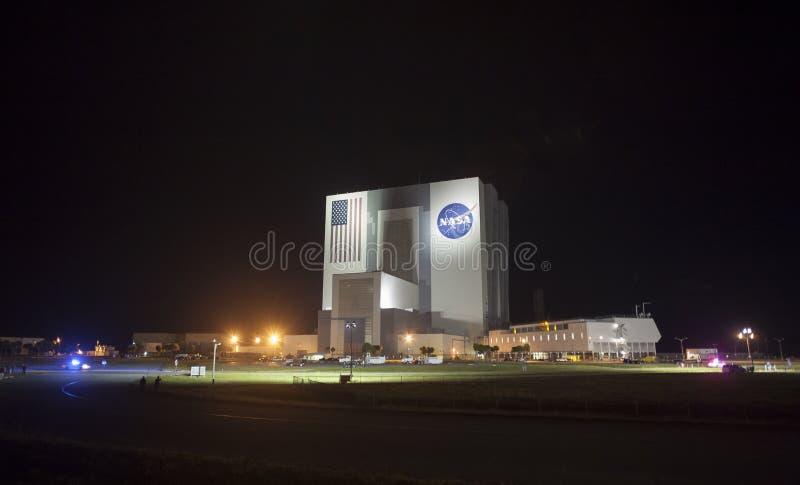 Construção do conjunto do veículo em Kennedy Space Center fotos de stock