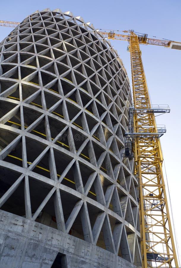 Construção do edifício fotografia de stock royalty free