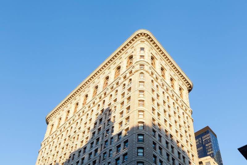 A construção do ferro de passar roupa em Manhattan, New York City imagens de stock