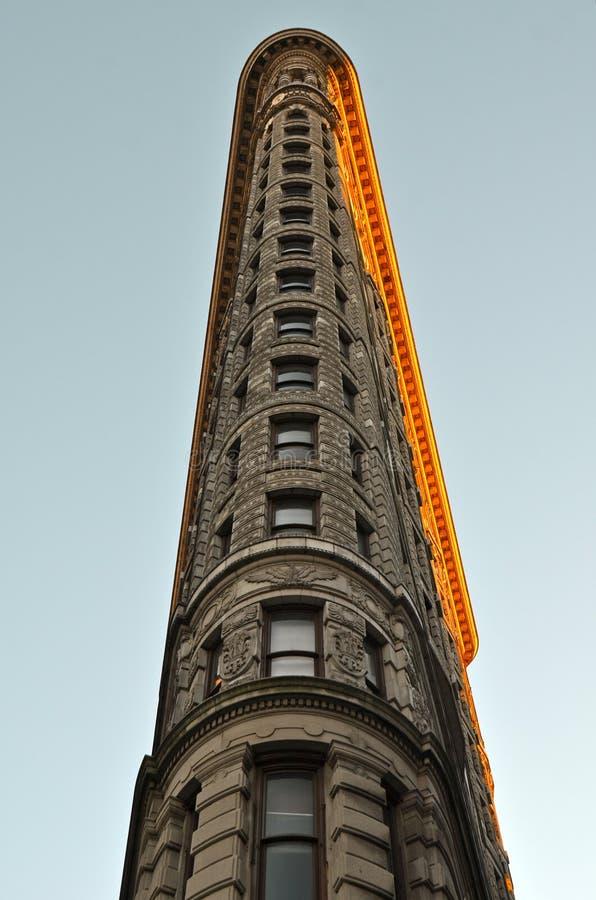 Construção do ferro de passar roupa, Manhattan, New York City fotos de stock royalty free