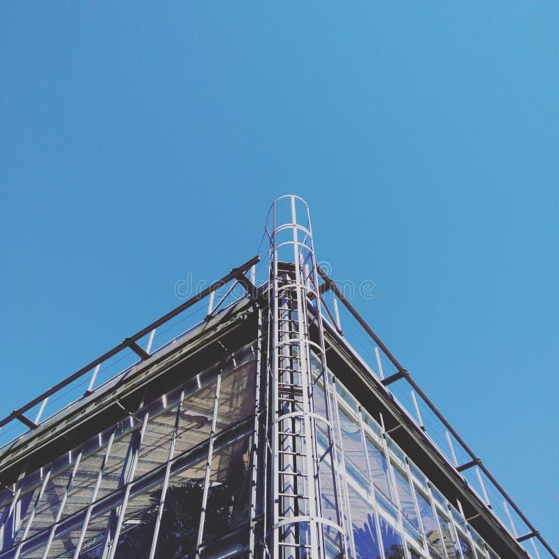 Construção do freetime da natureza do céu da vista foto de stock royalty free