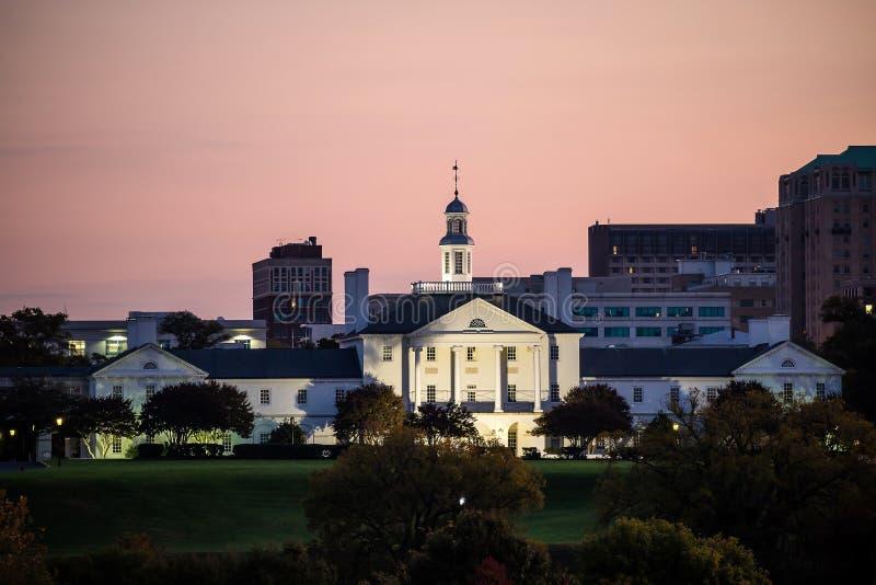 Construção do governo em Richmond VA fotografia de stock royalty free