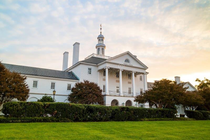 Construção do governo em Richmond VA foto de stock