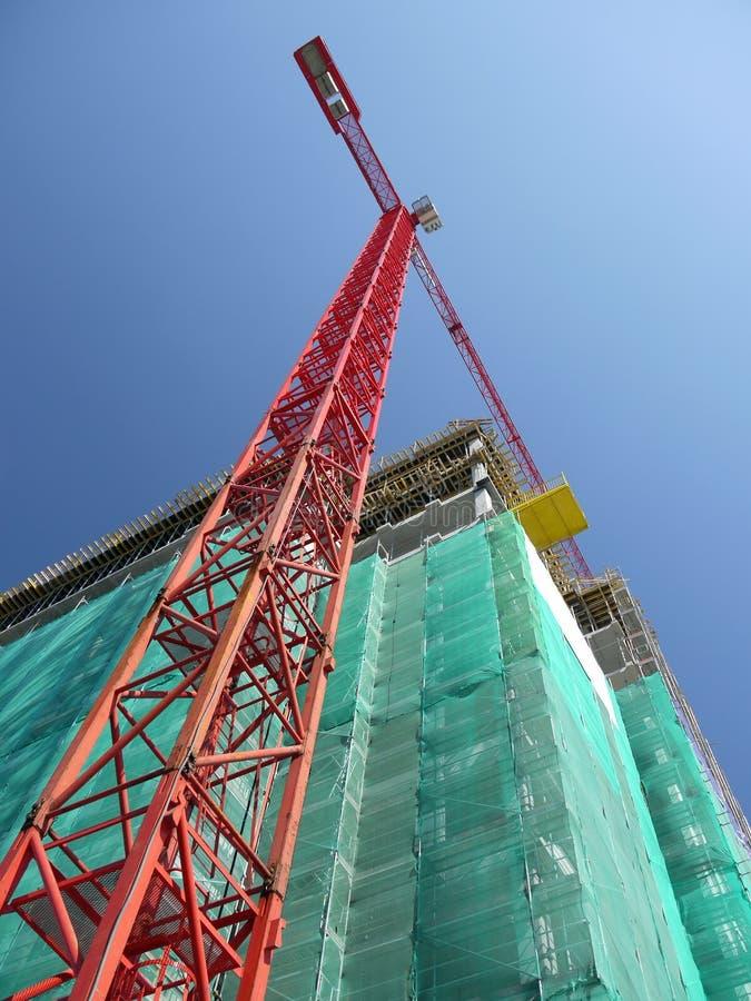 Construção do Highrise imagens de stock