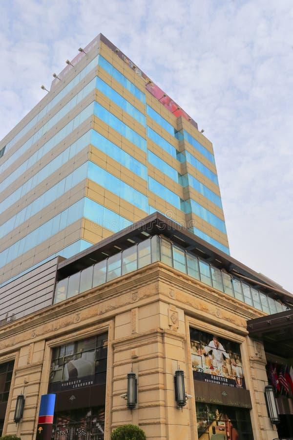 Construção do hotel do fullon, cidade de taipei foto de stock royalty free