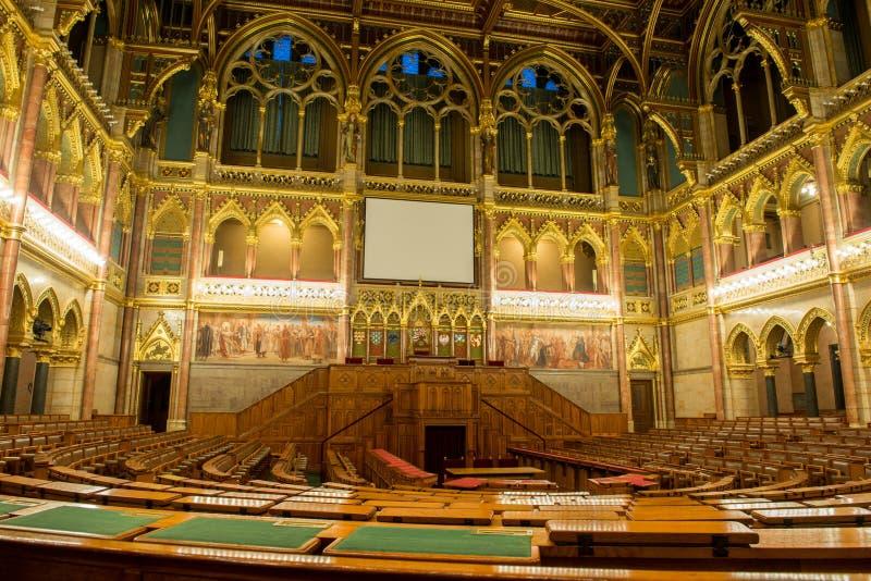 Construção do parlamento de Hungria, Budapest imagem de stock royalty free