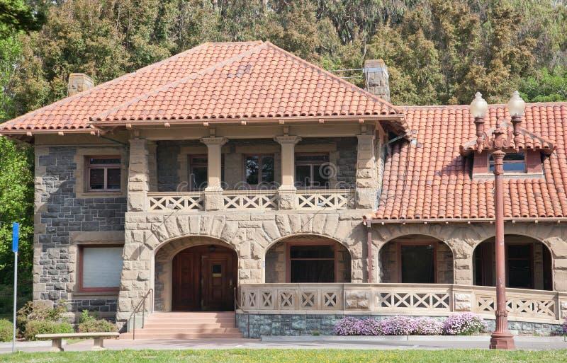 Construção do renascimento de Romanesqe foto de stock royalty free