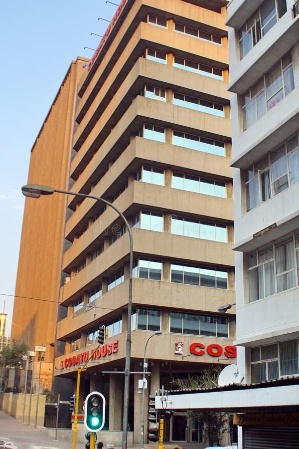 Construção do sindicato em Joanesburgo imagem de stock