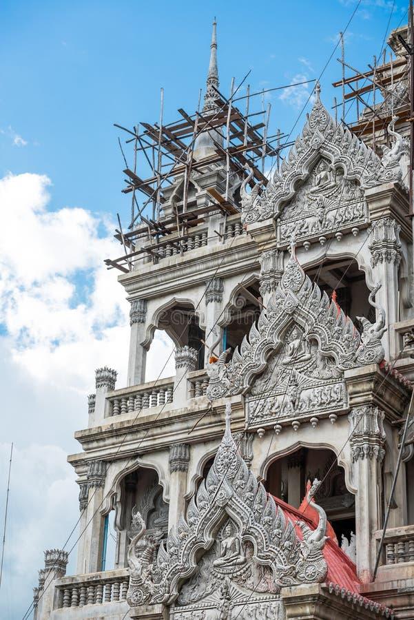 Construção do templo fotos de stock