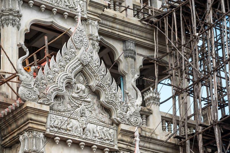 Construção do templo foto de stock royalty free