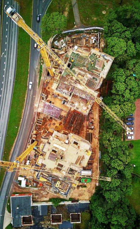 Construção dos bens imobiliários imagem de stock royalty free