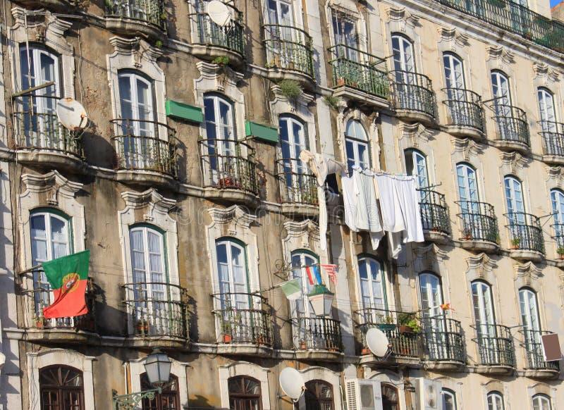 Construção em Alfama, Portugal fotografia de stock royalty free