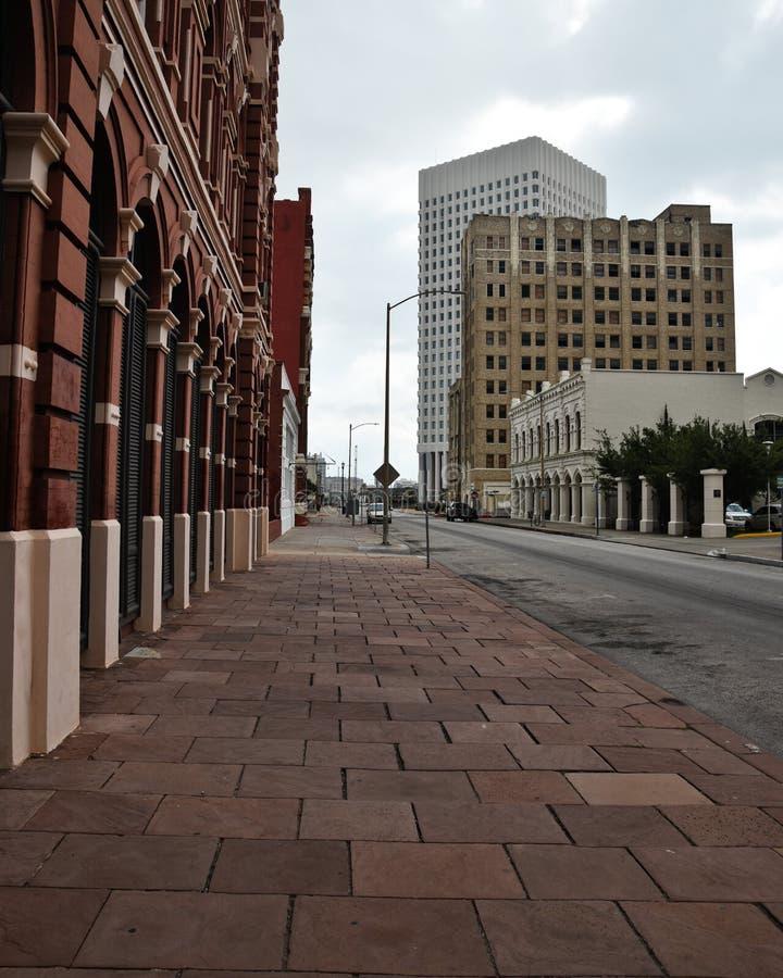 Construção em Galveston Texas imagens de stock royalty free