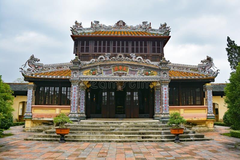 Construção em Hue Imperial City fotos de stock