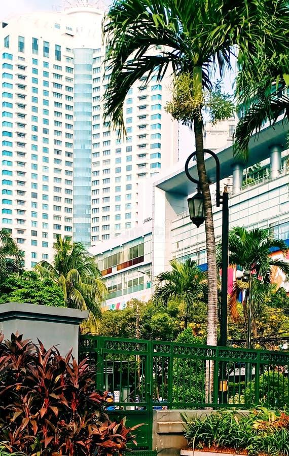 Construção em jakarta sul Indonésia foto de stock royalty free