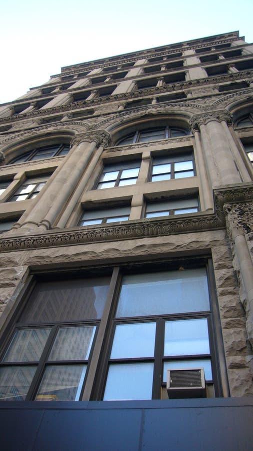 Construção em Manhattan foto de stock