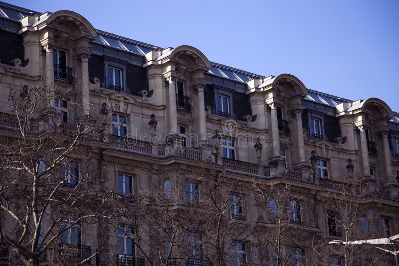 Construção em Paris, França fotos de stock royalty free
