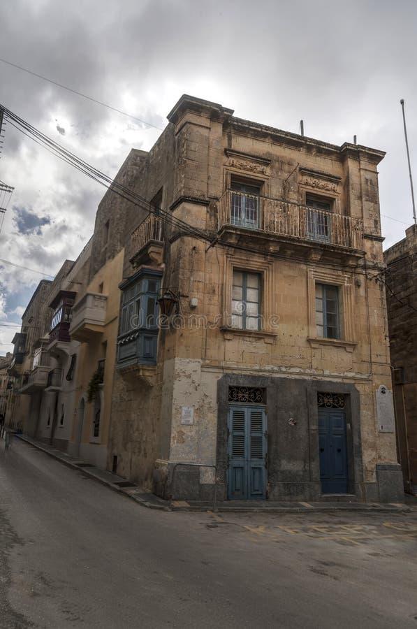 Construção em Rabat Malta foto de stock royalty free